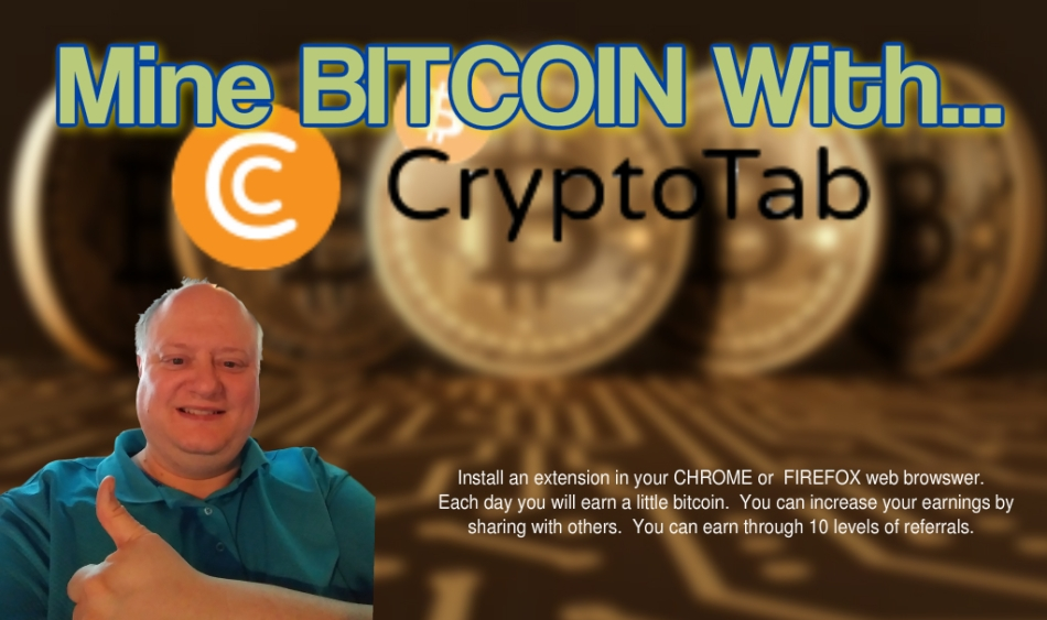Cryptotab – Mine Bitcoin With Your Chrome or Firefox Browser